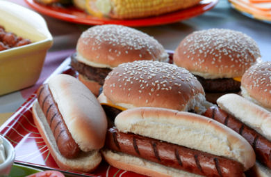 Hamburgers & Hot Dogs