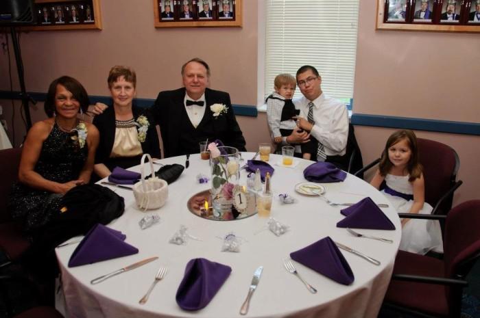 Masonic Wedding Photo